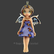 *ANGEL IN LILAC* Strangeling Hanging Fairy Figurine By Jasmine Becket-Griffith