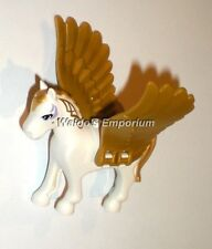 Lego Elves MiniFigure Animal, GOLDEN GLOW Pegasus w/Pearl Gold Wings, 41078, New