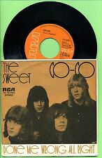 The Sweet  -- CO  CO -- Single--RCA 74 16 086 --