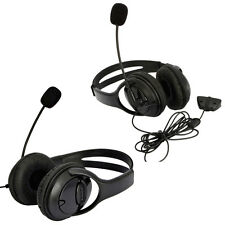 2X New Big Headset Headphone with MIC for Microsoft Xbox 360 Live Controlle