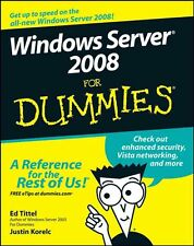 Windows Server 2008 FOR DUMMIES - Tittel / Korelc - WILEY (2008, paperback)