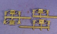 HO/HOn3 BRASS WISEMAN BACK SHOP HBS141 ARCH BAR TENDER TRUCK SIDEFRAMES