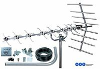 FREEVIEW DIGITAL TELEVISION 4G AERIAL AND INSTALLATION KIT 1st CLASS DELIVERY