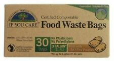 If You Care 30 Compostable Potato Starch Food Waste Bags 3 Gallon Capacity
