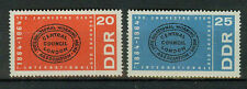 DDR Briefmarken 1964 Internationale Mi 1054 und 1055