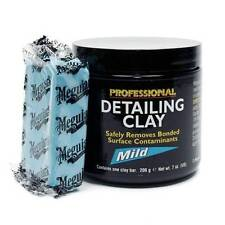 Meguiar's Mirror Glaze Professional Detailing Overspray Remover Clay Mild Blue