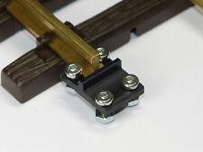 Schraubbare  Isolier Schienenverbinder Spur G   10 Stück ! ! ! NEU ! ! !