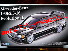 MERCEDES-BENZ 190e 2.5-16 Evolution II KIT FUJIMI scala 1:24 OVP NUOVO