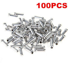 100 X Bike Bicycle Shifter Brake Gear Inner Tips Cable Ends Caps Crimps Ferrules