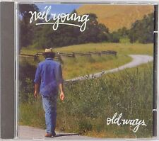NEIL YOUNG: Old Ways UK Pressing CD Original Gorgeous NM