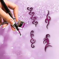 Airbrush klebe Schablonen - SET011 - NAILART - Ornament Tribal Tattoo 4x 20 Stk.