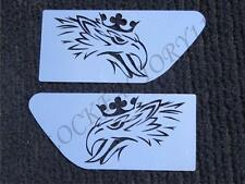 Set of 2 pcs. SCANIA Eagle Wing Spoiler Decoration Made ​​Of Stainless Steel