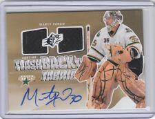 2011-12 SPx #250 Marty Turco Flashback Fabrics Dual Jersey Autograph case card