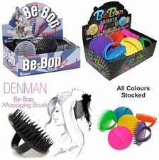 Denman D6 Be-Bop Massage Brush Perfect for Styling Hair BLACK