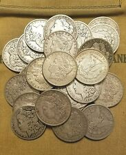 Iconic Antique US Morgan Silver Dollar Coin Lot - 1 Old Coin from 1878 to 1904.
