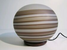 VEART ARTEMIDE LAMPADA DA TAVOLO VETRO DI MURANO BALL LAMP SPACE AGE '900