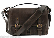 ONA Prince Street Dark Truffle Leather Camera Messenger Handcrafted Premium Bag