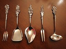 Vintage 1964 Reed and Barton Harlequin Silver plate Hostess/party serving set