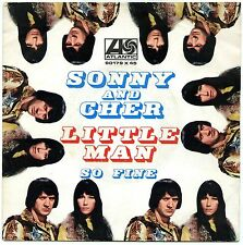 "SONNY AND CHER  LITTLE MAN SO FINE 7"" ITALY EX"