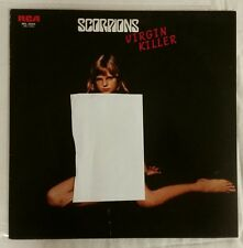 SCORPIONS Virgin Killer LP Vinyl 1977 Japan Press w/ OBI & Insert RVP-6155 EX
