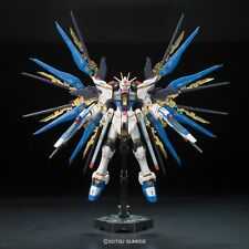 Bandai RG 144 Strike Freedom Gundam Anime Mech Robot Model Kit Sword Gun Toy h m
