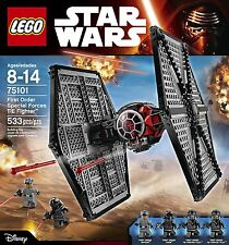 LEGO Star Wars  Droid Tie Fighter First Order Forces Building Play Toy Ship