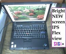 "☀IPS FLEXVIEW Lenovo 15"" T60 Thinkpad NEW SXGA✛4:3 Hi-res NICE-view-angle laptop"