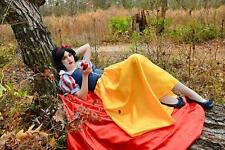 "Snow White Dress Gown & Cape Costume, Adult - Your Size Choice Busts 32"" - 42"""