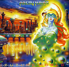 PRETTY MAIDS 1987 FUTURE WORLD VINTAGE PROMO POSTER ORIGINAL