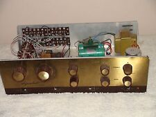 Vintage Dynakit  Model PAS2 PreAmplifier For Parts or Repair Needs Tubes