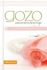 Gozo para el alma de la mujer: Promises to Refresh Your Spirit (Spanish Edition)