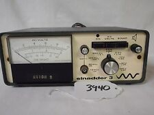 (3940) Helper Instruments Sinadder 3 AC Voltmeter P/N S103