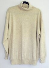 Your Sixth Sense 100% cashmere beige turtleneck sweater size XL