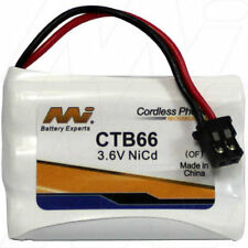 3.6V Replacement Battery Compatible with Jackson CB1220B