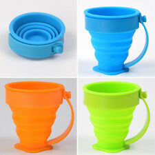 Silicone Collapsible Cup Folding Cup Silicone Travel Camping Retractable