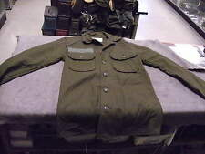 US VN era Type GI Wool Shirt size XS, Has DSA  numbers but has 1977 Contract dat