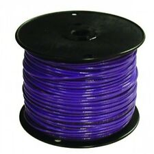 ENCORE 18 AWG TFN SOLID COPPER WIRE 500 FT. SPOOL IN BLUE