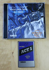 "YAMAHA SY77 CARD ""SHOFUKU ACT1"" VC7701W 