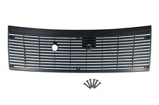 1983-1993 Ford Mustang Black Cowl Vent Grille Cover  w/ Hardware (6 Screws)