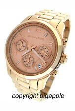 NEW MICHAEL KORS CHRONOGRAPH DATE 100M LADIES WATCH MK5128
