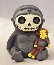 Furry Bones Black Kongo Gorilla Skeleton Animal Figurine Free S&H