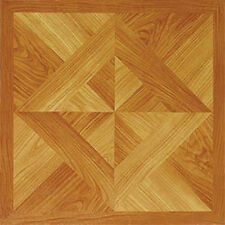 Wood Vinyl Floor Tiles 20 Pcs Self Adhesive Flooring - Actual 12'' x 12''