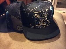 BALLAST POINT  TRUCKER HAT MESH  NEW  SAN DIEGO BREWERY pirate skeleton BEER