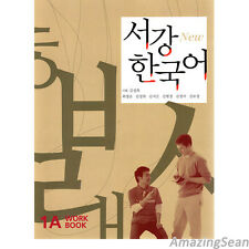 Sogang Korean 1A Workbook 1A With CD Korean Language Book Conversation BO39