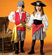 M 4952 Patron Costume Pirate Enfants
