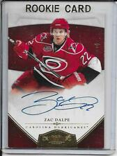 10-11 Dominion Zac Dalpe Gold Rookie Auto # 164 #d/25