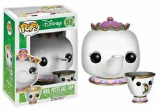 Funko POP! Beauty And The Beast: Mrs. Potts & Chip - Disney Vinyl Figure 92 NEW