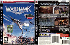 WARHAWK (+AURICOLARE BLUETOOTH) - PS3 NUOVO E SIGILLATO, ITALIANO, NO IMPORT