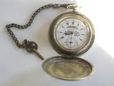 "Rare Ottoman Empire Turkish Market  "" Serkisoff "" Pocket Watch ""Zenith/Billodes"""