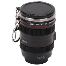 Camera Lens Cup Coffee Tea Mug Stainless Steel Thermos & Lens Lid Leak-Proof